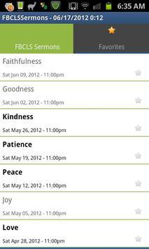 FBCLS Sermons apk screenshot
