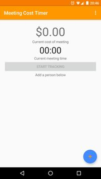 Meeting Cost Timer poster