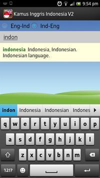 Kamus Inggris-Indonesia apk screenshot