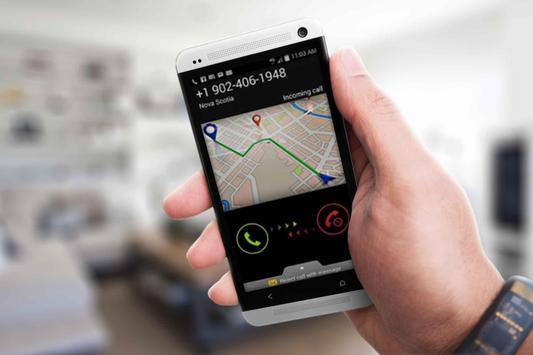Mobile Caller Location Tracker poster