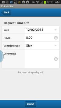 ESS Mobile apk screenshot