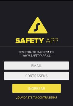 Safety App poster
