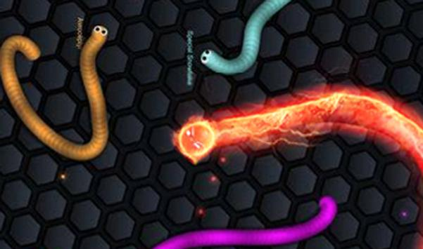 Glow Skins for Slitherio poster