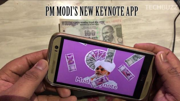 Modi Keynote Guideline apk screenshot