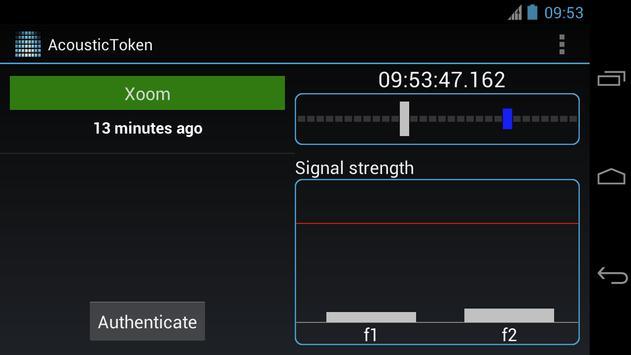 Acoustic Token apk screenshot