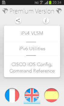 VLSM IP Subnets - IOS Cisco poster