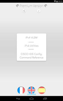 VLSM IP Subnets - IOS Cisco apk screenshot