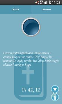 Cytaty z Biblii poster