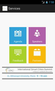 Summit for Smart Cities poster