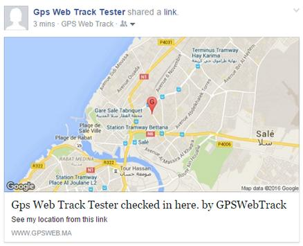 GPS Web Tracking poster