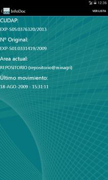 InfoDoc Min. Agroindustria apk screenshot
