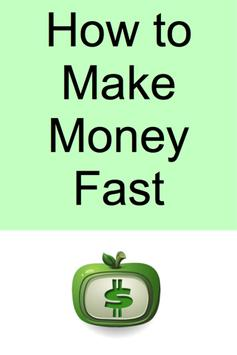 How to Make Money Fast poster