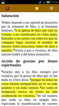Biblia Latinoamérica apk screenshot