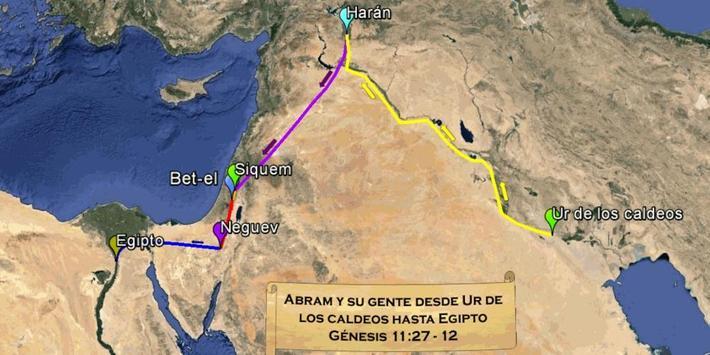 Mapas Bíblicos Génesis Free apk screenshot