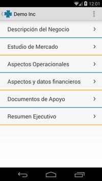 Plan de Negocio apk screenshot