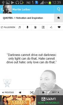 Martin Luther Quotes apk screenshot