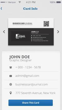 CardBook Online apk screenshot