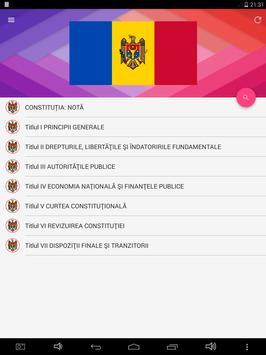 Constituția Republicii Moldova apk screenshot