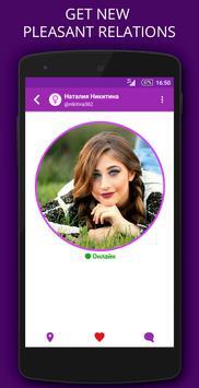 Chatmap - chat & dating on map apk screenshot