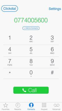 Clickdial apk screenshot
