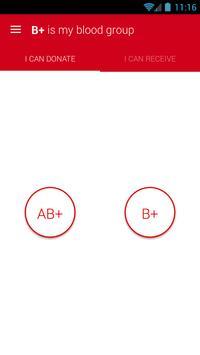Blood Group Compatibility apk screenshot
