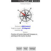 Compass for GPS trackers icon