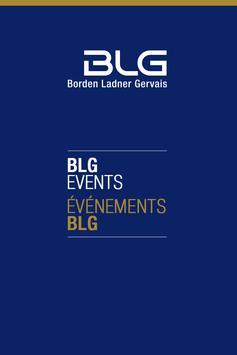 BLG Events poster
