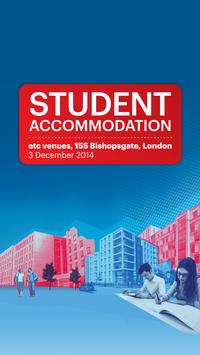 Student Accommodation 2014 poster