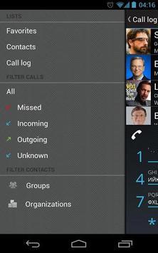Dialer One – free smart dialer apk screenshot