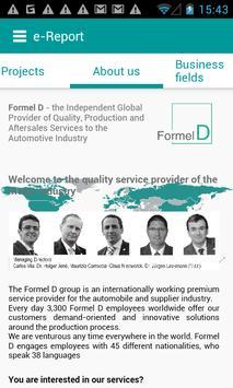Formel D e-Report apk screenshot