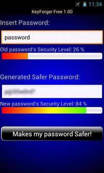 KeyForger Free Password Gen apk screenshot