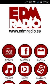 EDM Radio Oficial poster