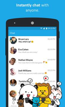 JAZZ: Chat with people nearby apk screenshot