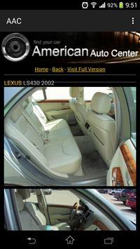 AAC American Auto Centers apk screenshot