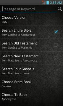Bible du Semeur-BDS (French) apk screenshot