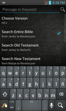 Bible HCV, Haitian Creole apk screenshot