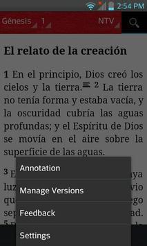 Bible NTV (Spanish) apk screenshot
