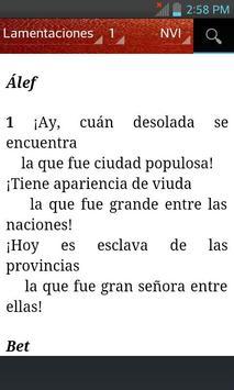 Bible NVI (Spanish) apk screenshot