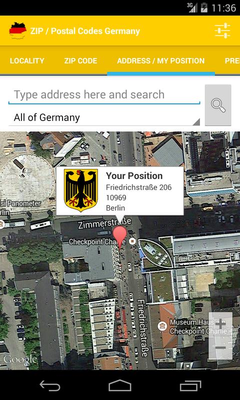 Postal Code For Germany