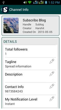 Subscribo apk screenshot