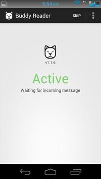 Buddy SMS Reader poster