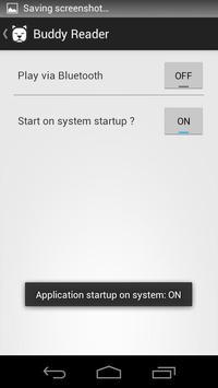 Buddy SMS Reader apk screenshot