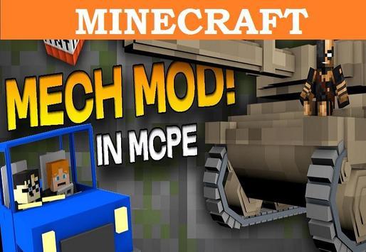 Mech MOD Minecraft PE apk screenshot