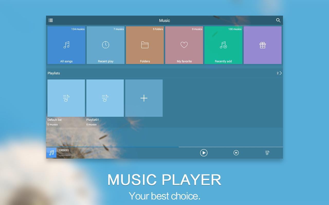 audio music player apk