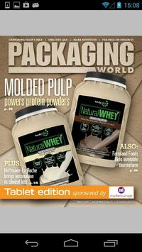 Packaging World Magazine poster