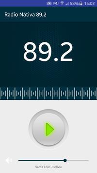 Radio Nativa 89.2 FM poster