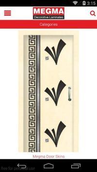 Megma Decorative Laminates poster