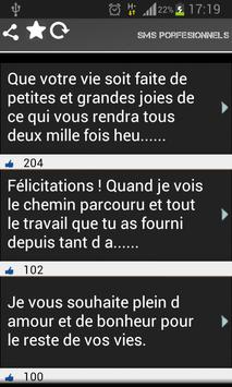 Sms Pro French apk screenshot