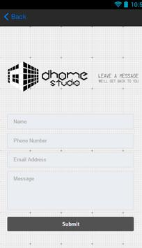 Dhome Studio apk screenshot