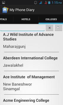 My phone Diary apk screenshot